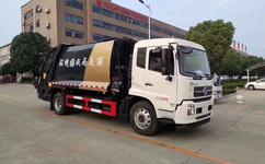 國六東風14方壓縮垃圾車環衛車生產基地圖片