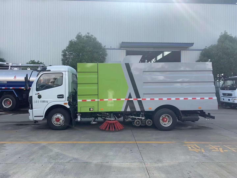 东风多利卡D7国六洗扫车图片