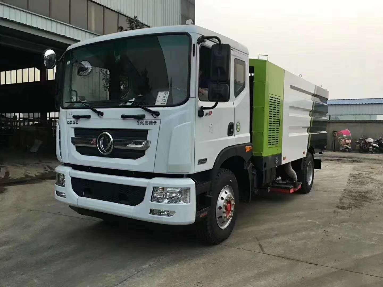 东风多利卡D9洗扫车,12吨大型洗扫车