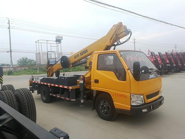 原厂江铃蓝牌21米高空作业车 伸缩臂高空作业车出售