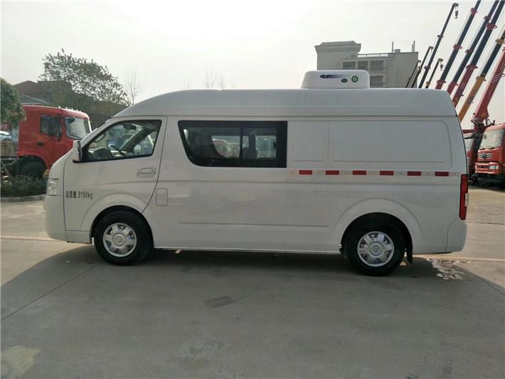 福田G7双排面包冷藏车