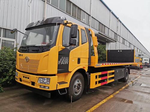 解放10吨一拖二清障车专业订制厂家直售