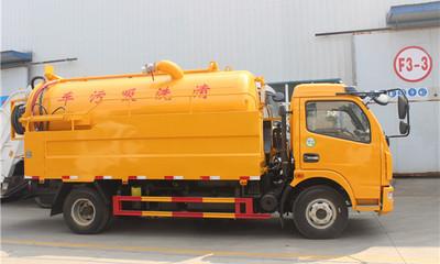 東風6噸清洗吸污車配置哪里的好呢