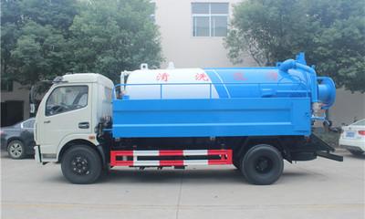D7東風多利卡8噸清洗吸污車配置哪里的好