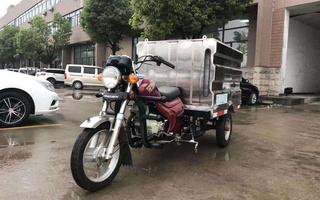 三轮摩托高压清洗车图片