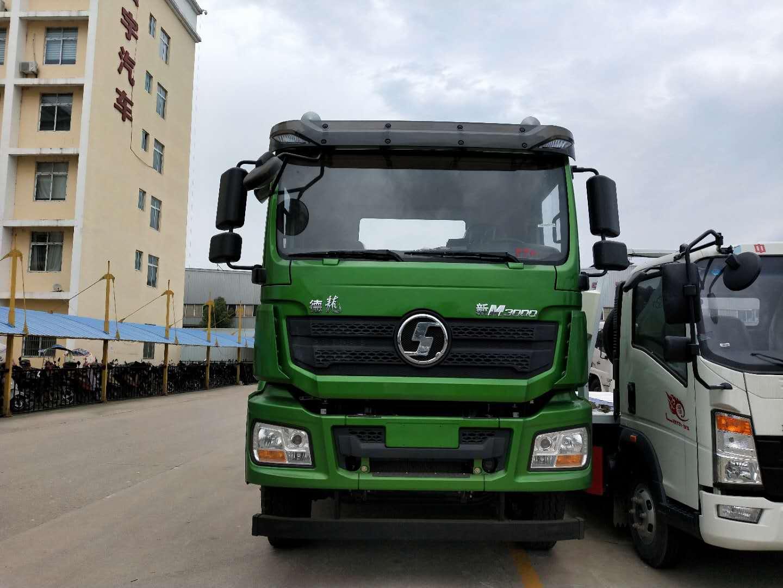 20吨苹果绿陕汽德龙后双桥大型清障拖车救援车最新环保图片图片