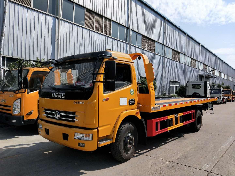 甘肃东风多利卡道路拖车救援车厂家150马力价格实惠图片