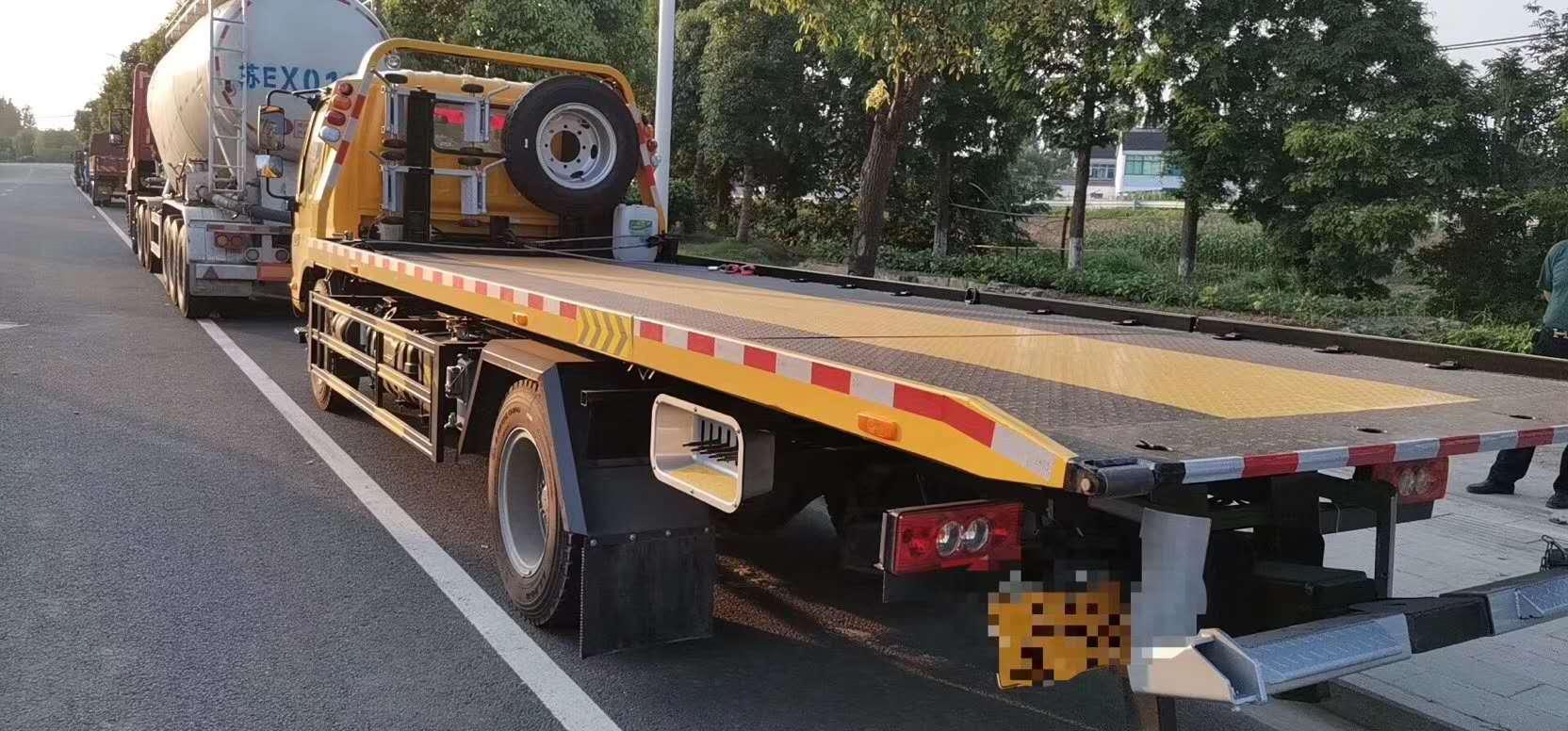福田歐馬可6.5米5噸板清障車圖片圖片