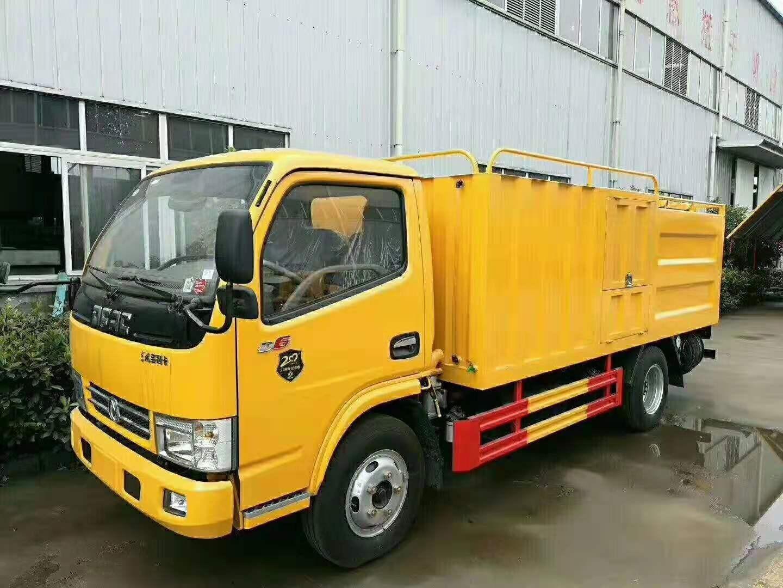 蓝牌污水处理车,污水净化车干湿分离和直抽直排功能图片