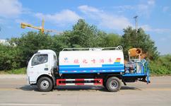藍牌3噸灑水車廠家直接訂購價格