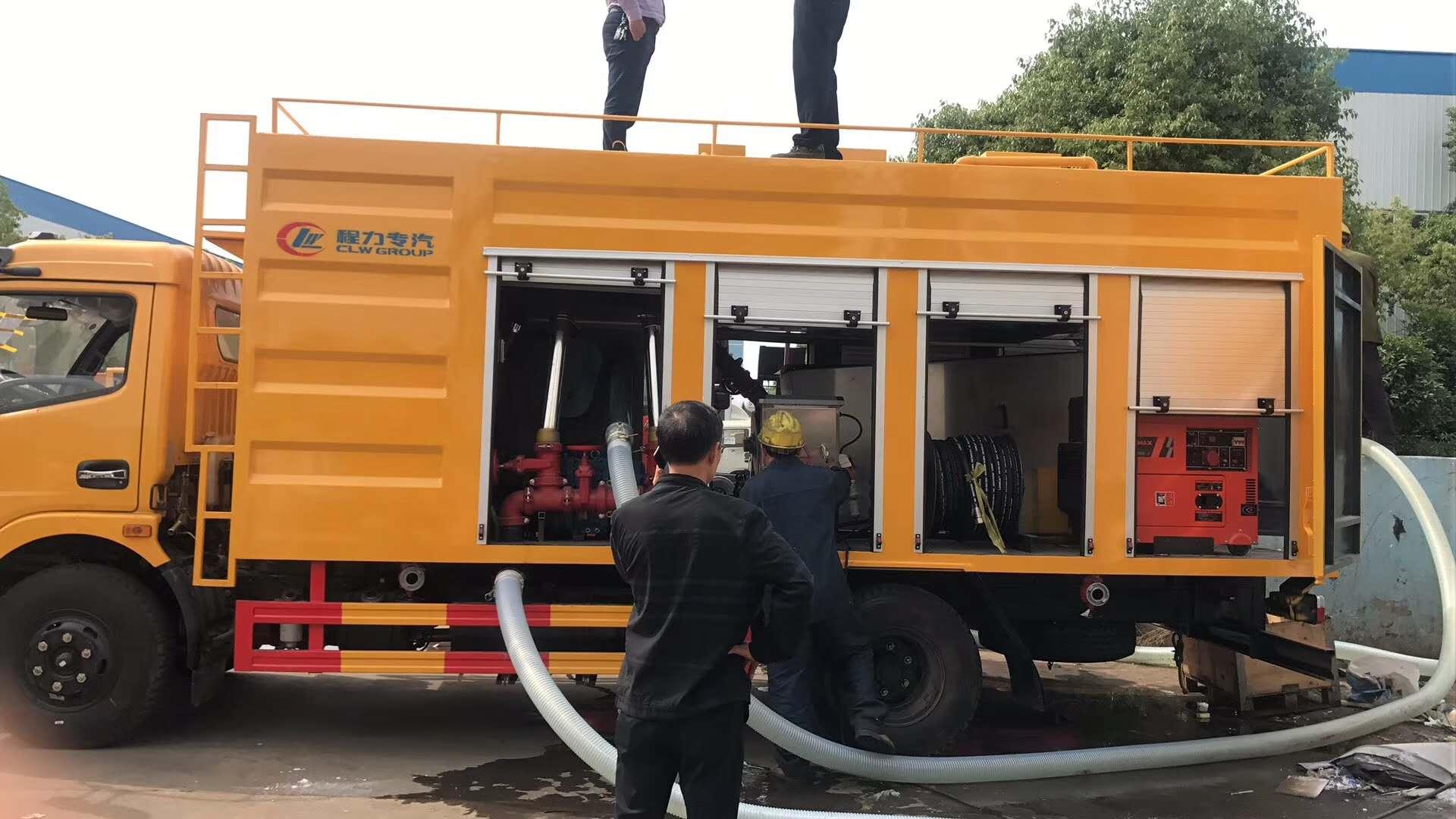 污水处理清淤车抽泥浆污水车厂家地址视频