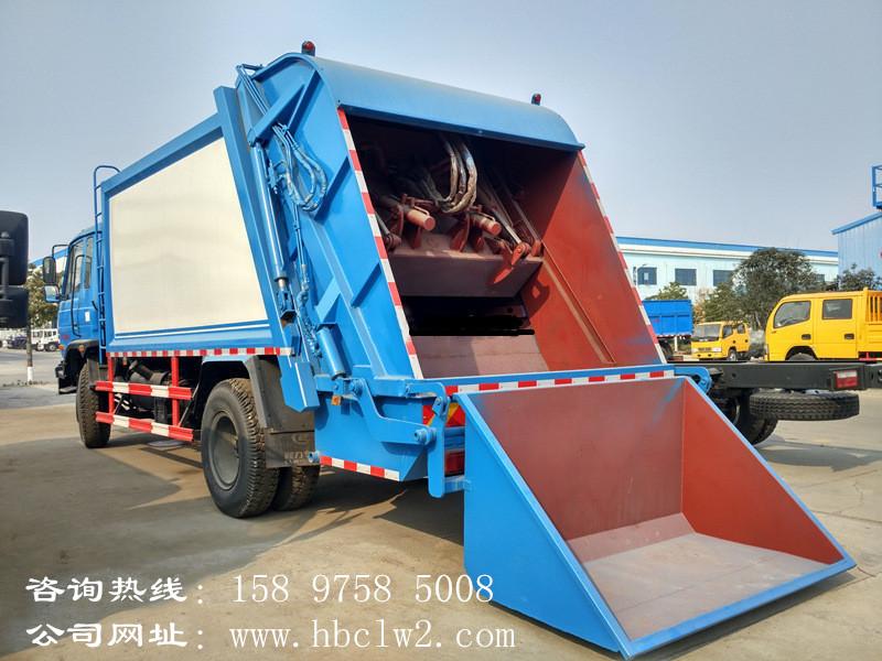 东风145 10方压缩式垃圾车图片