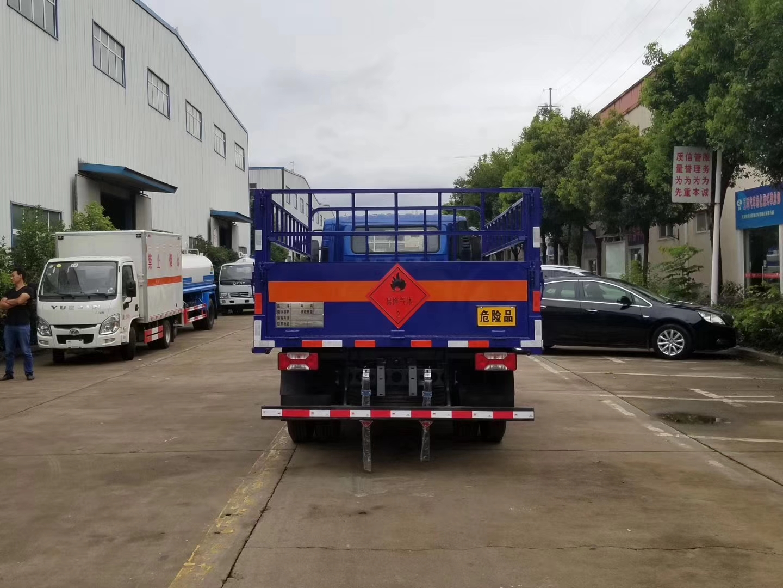 躍進C300氣瓶運輸車藍牌!C證可以開的藍牌氣瓶運輸車圖片