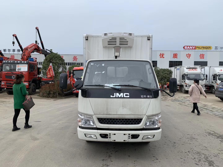 江铃蓝牌4米2冷藏车 115马力图片