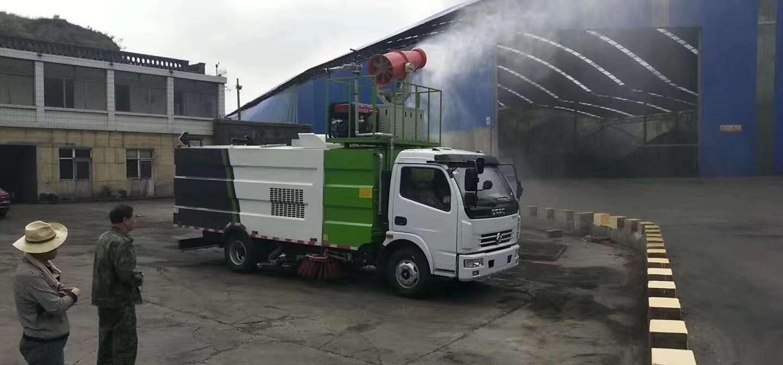 楚胜牌煤厂吸尘车。厂家联保,效果看得见图片