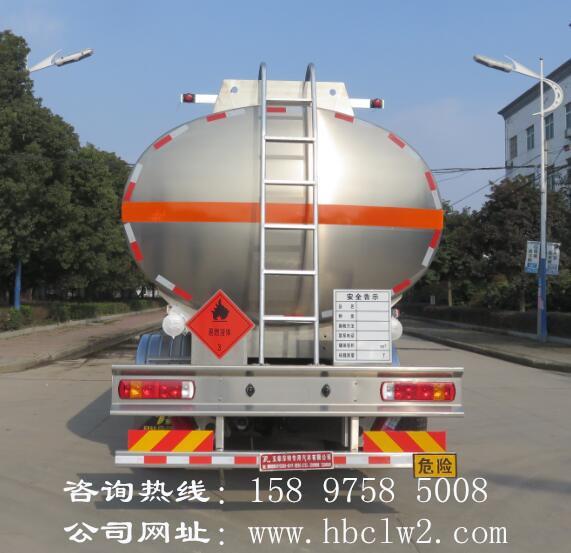 福田欧曼前四后六20吨铝合金运油车图片