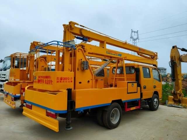 客户来试吊东风特商单桥,玉柴160马力,法士特8档变速箱,轴距5.1米
