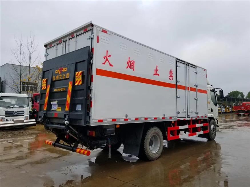 10噸6米8爆破器材運輸車炸藥車煙花爆竹運輸車圖片