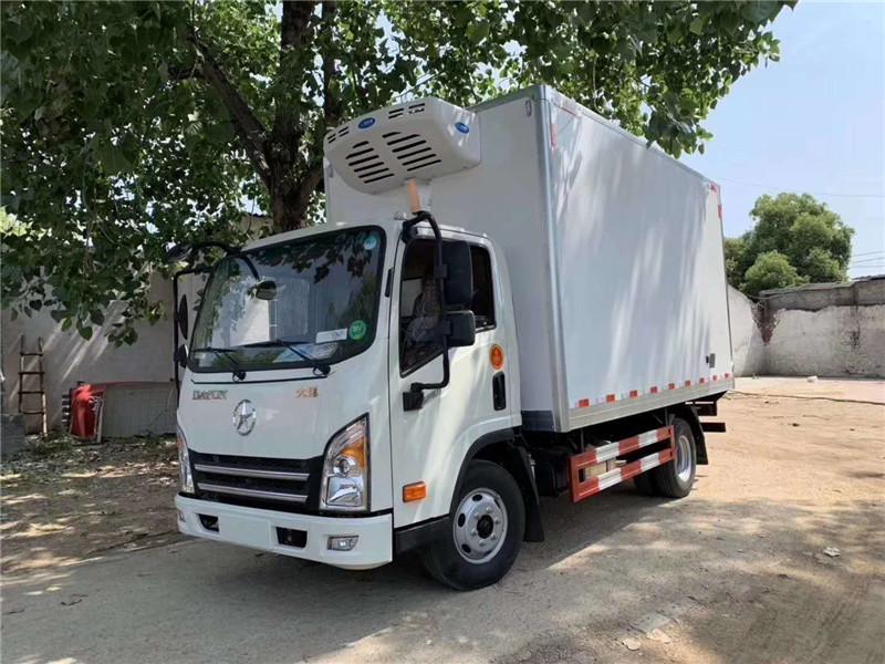 甘肃蔬菜运输车 大运冷藏车 蔬菜保鲜车(图8)
