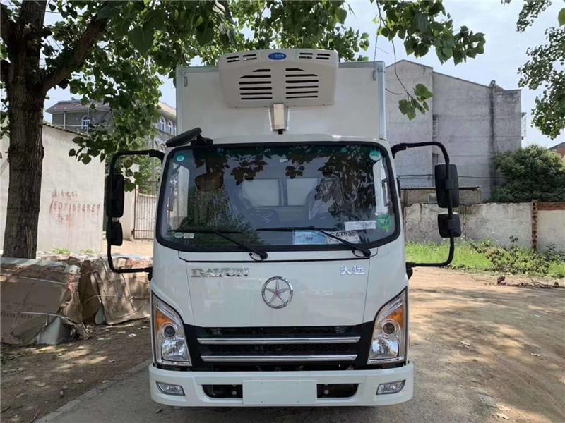 甘肃蔬菜运输车 大运冷藏车 蔬菜保鲜车(图10)