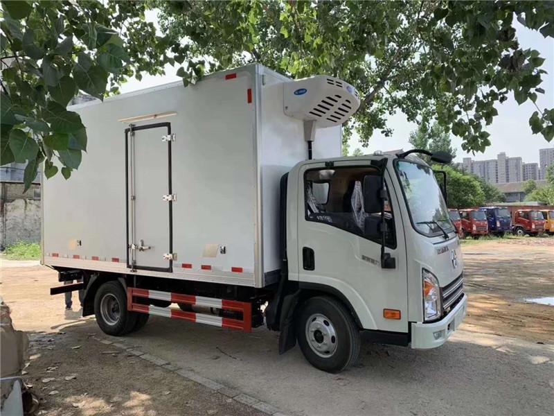 甘肃蔬菜运输车 大运冷藏车 蔬菜保鲜车(图15)