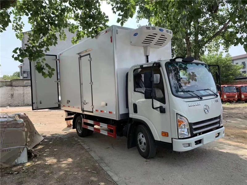 甘肃蔬菜运输车 大运冷藏车 蔬菜保鲜车(图17)
