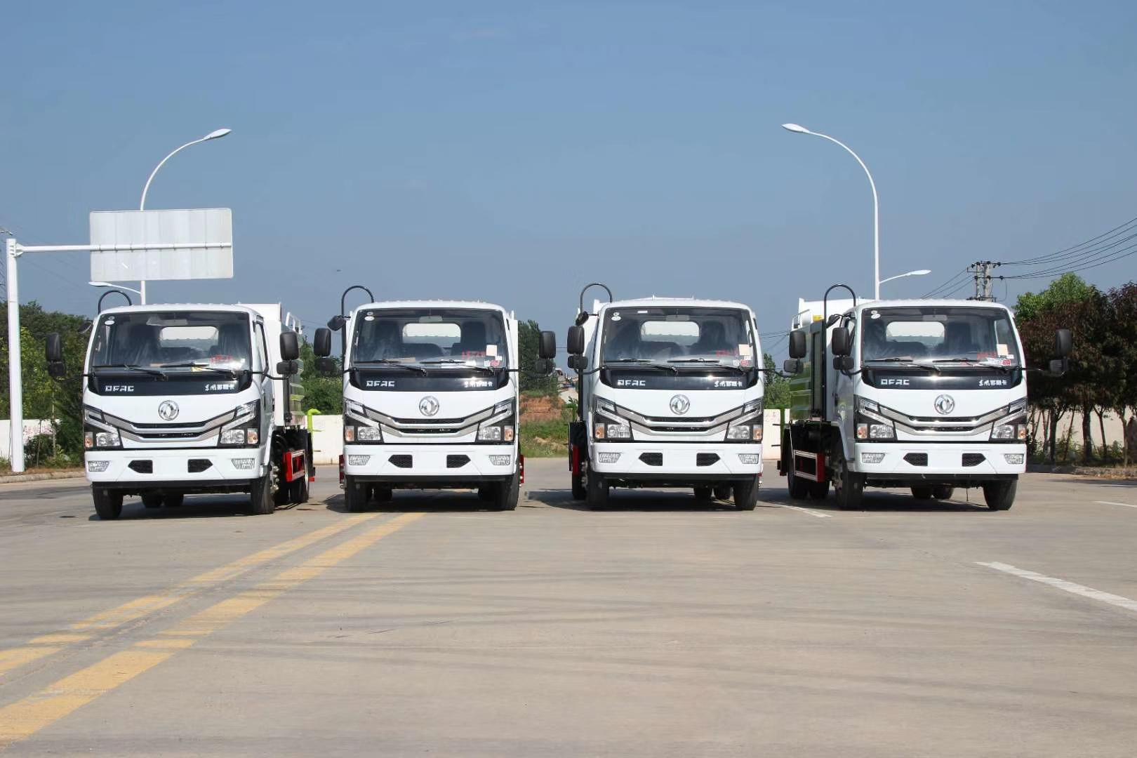 国六东风D6多利卡5吨绿化喷洒车30米抑尘车