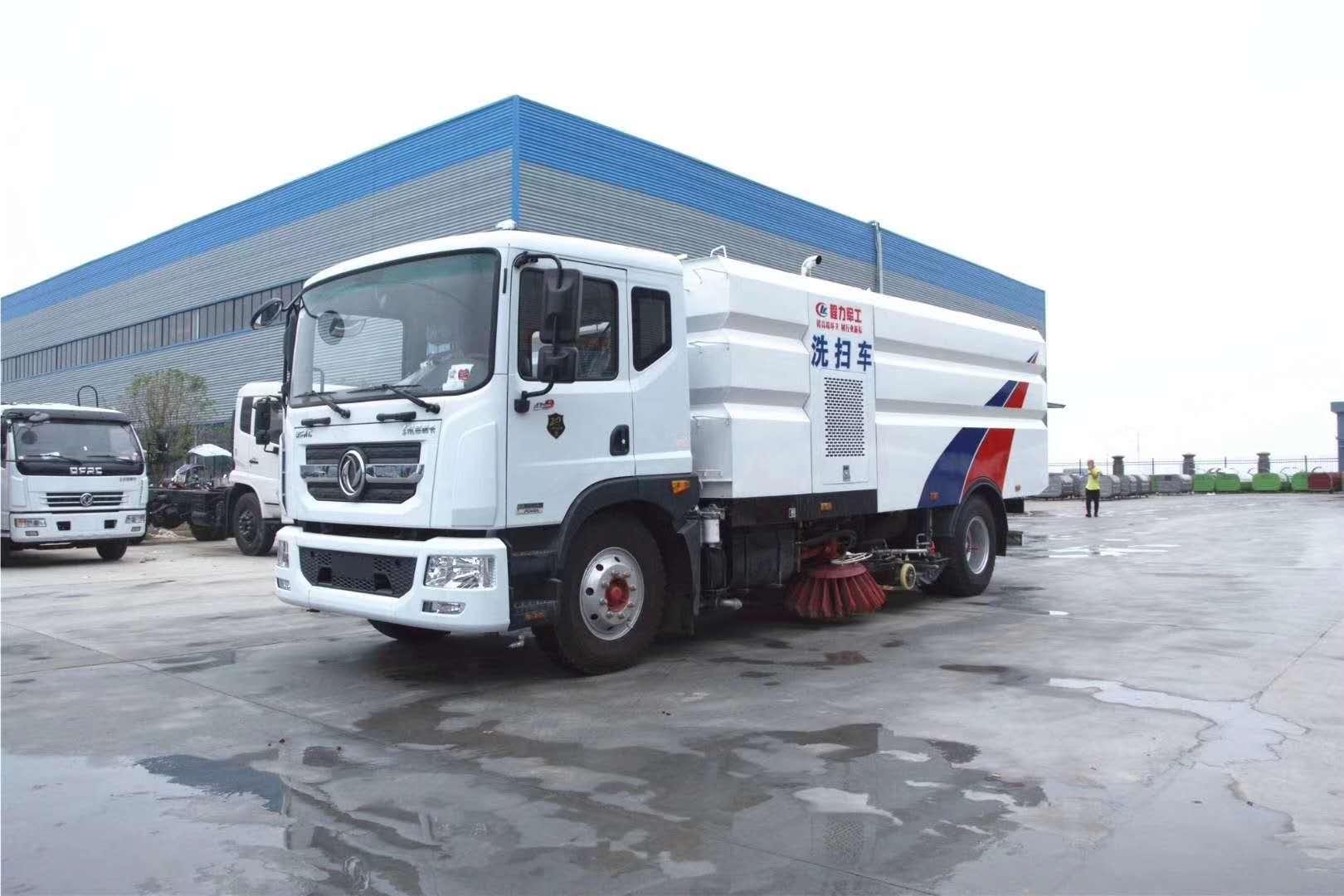 東風D9大型灑水掃路車,馬力大,功能多圖片