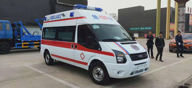 福特救护车v348长轴高顶监护型救护车图片