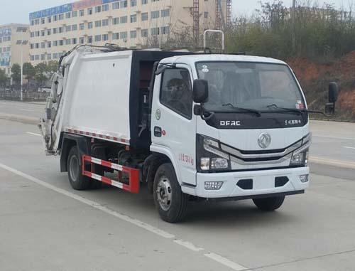 国六东风压缩垃圾车抢先预订