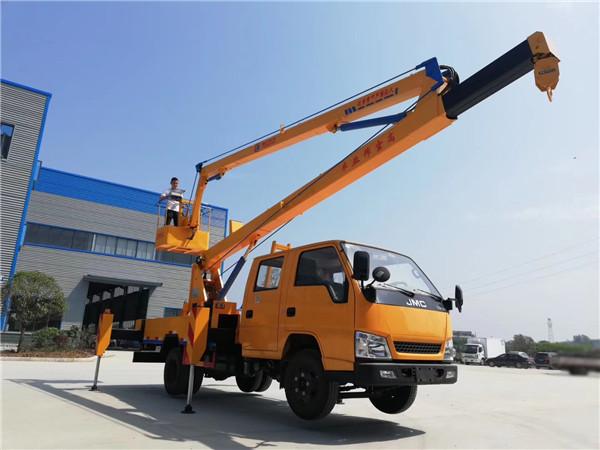 16米曲臂高空作業車廠家現車出售