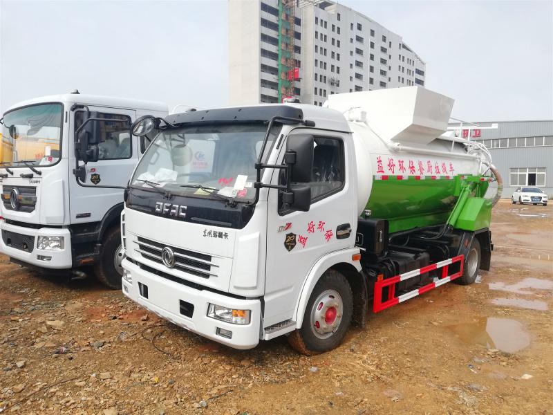 东风餐厨垃圾车,多利卡3方餐厨垃圾车