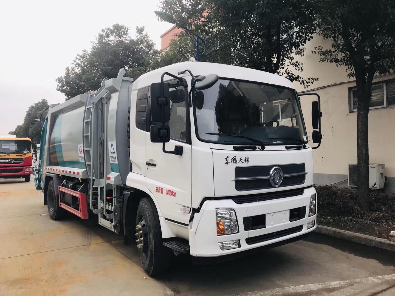 东风天锦分类压缩垃圾车图片