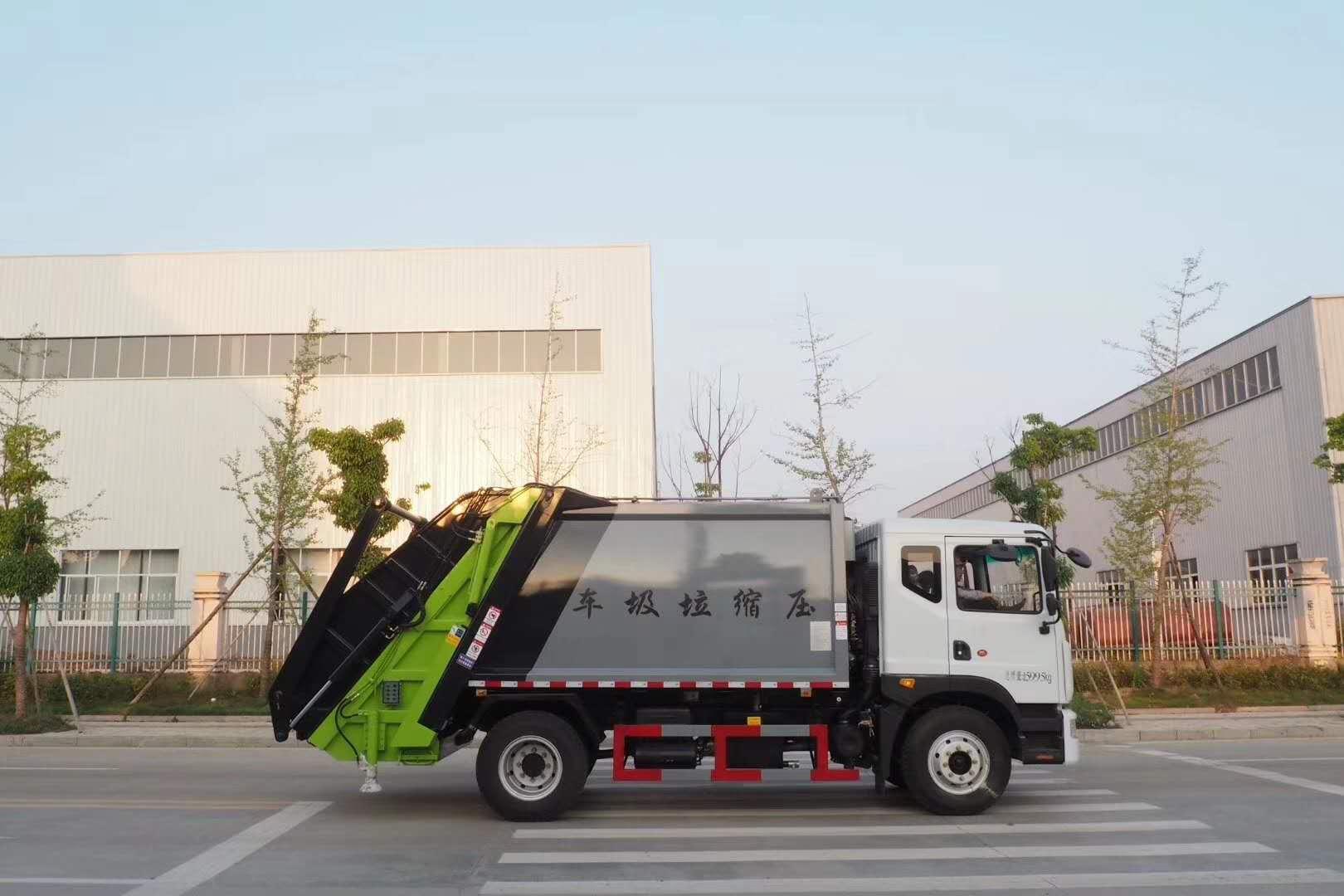 东风D9压缩垃圾车,优惠促销,质优价廉,欢迎选购图片
