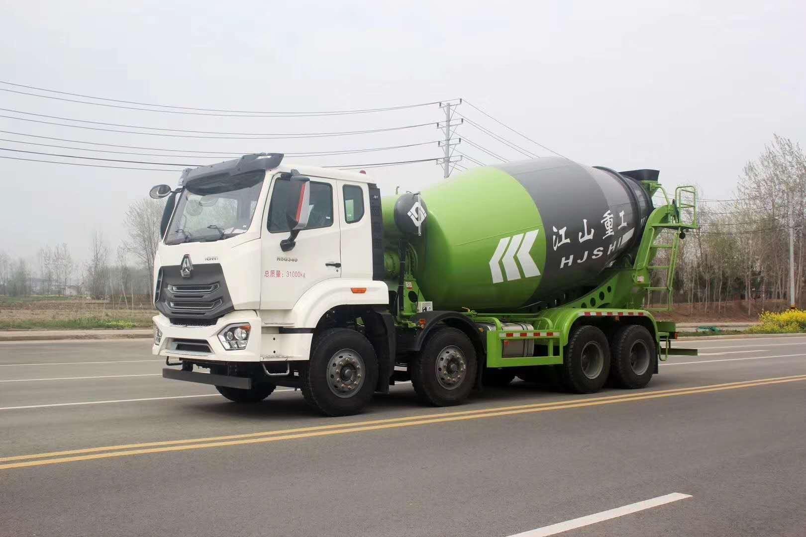 【J5G 轻量化混凝土搅拌车】重汽豪瀚J5G 轻量化混凝土搅拌车价格