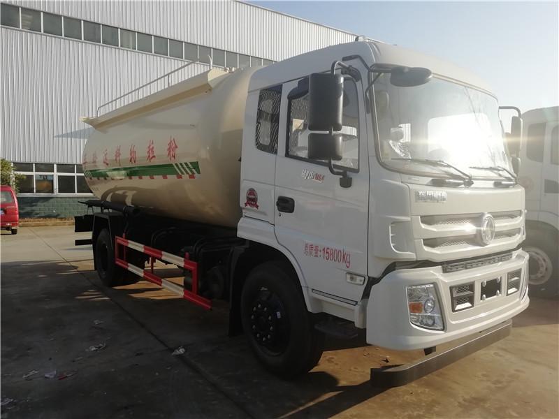 东风单桥18立方粉粒物料运输车