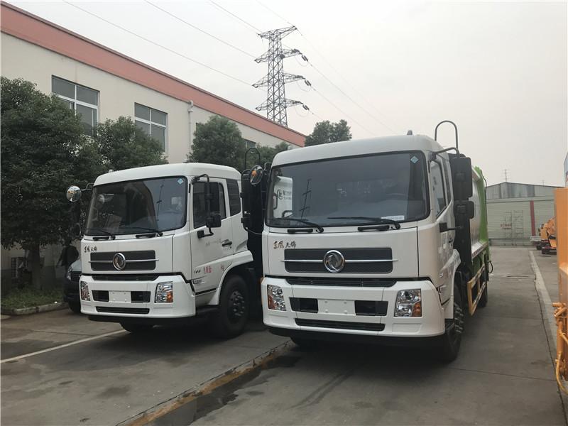 东风天锦8方压缩垃圾车多少钱