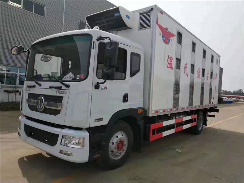 东风多利卡D9型猪苗鸡苗运输车详细介绍