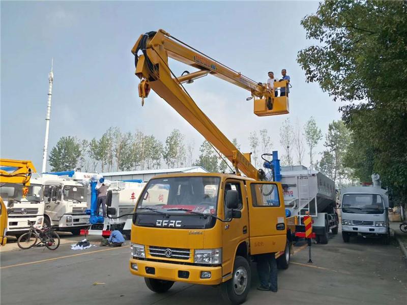 16米工程折臂式高空作业车特价图片