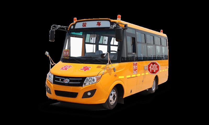 楚风牌HQG6581XC4型10-19座小学生专用校车