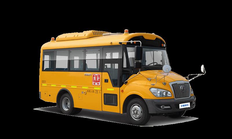 宇通牌ZK6609DX型小學生專用校車