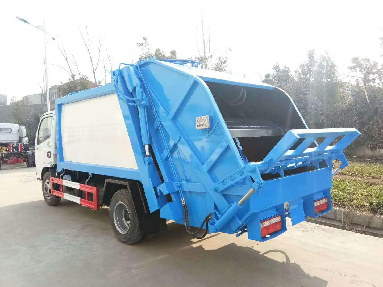 东风多利卡6方压缩垃圾车图片