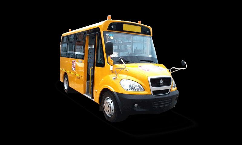 黄河牌JK6760DXA型24-43座小学生专用校车