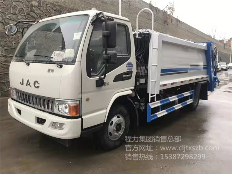 7~8m³江淮压缩式垃圾车