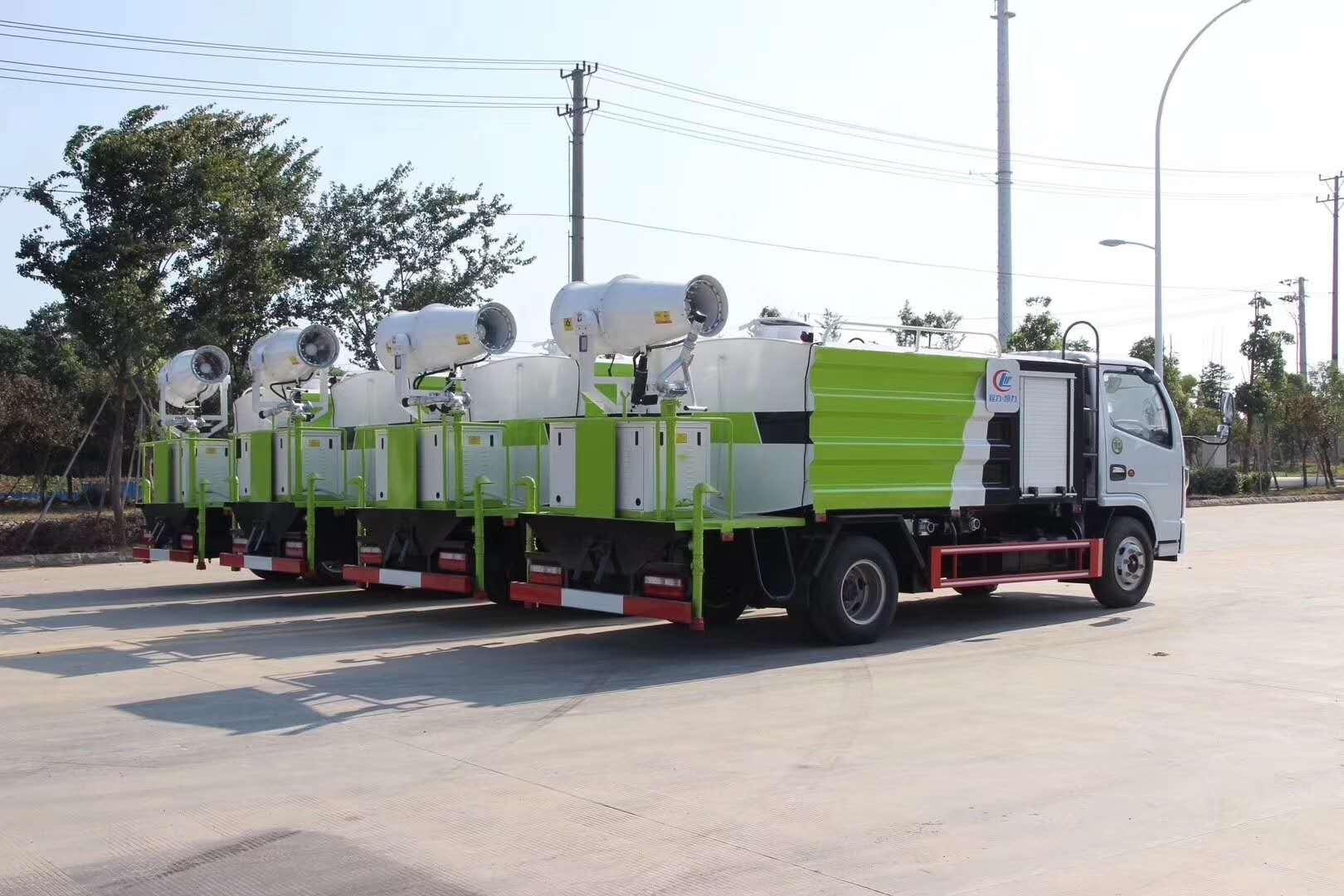 国六抑尘车,新一代环保产品图片