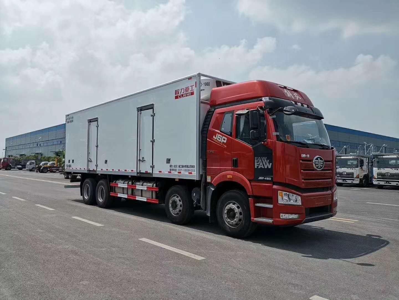 解放J6冷藏车,大型冷藏车图片