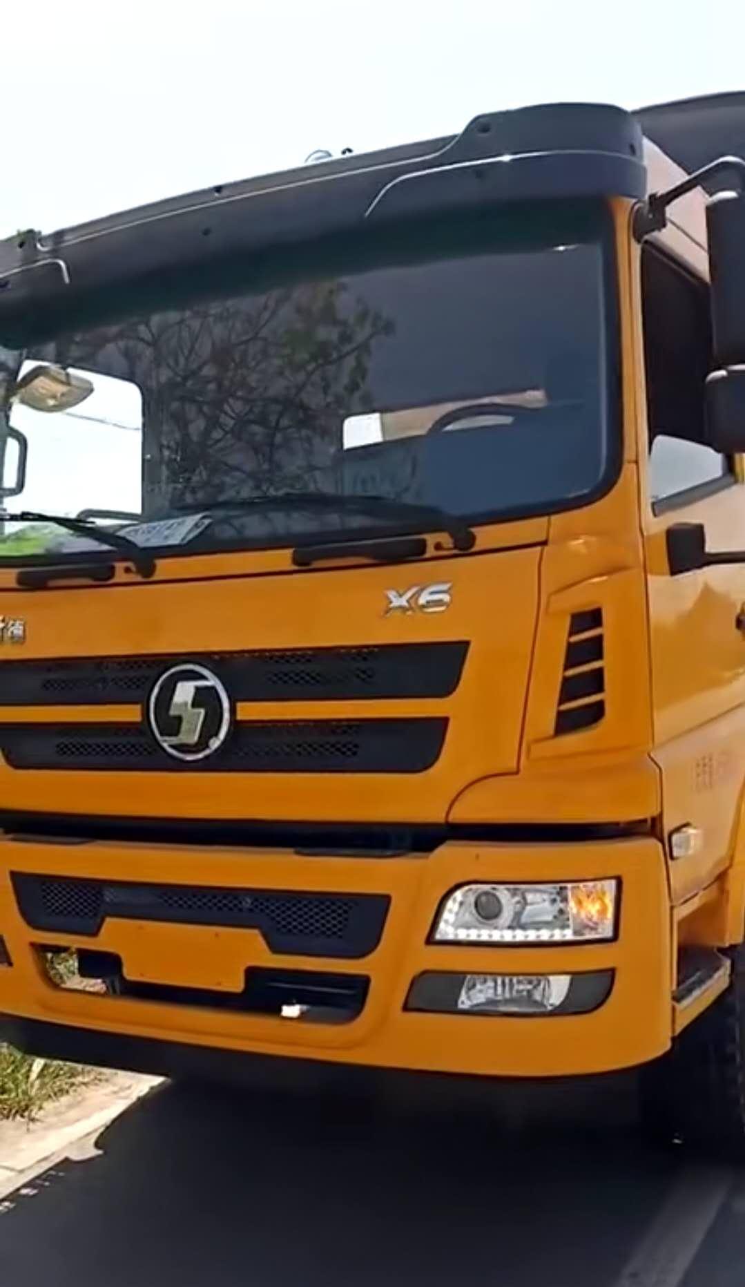 10吨220马力陕汽轩德清障车客户拖车救援车反馈视频视频