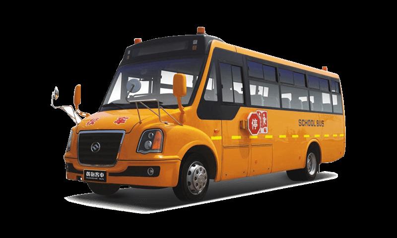 黃海牌DD6800C03FX型中小學生專用校車 24-36座小學生專用校車圖片