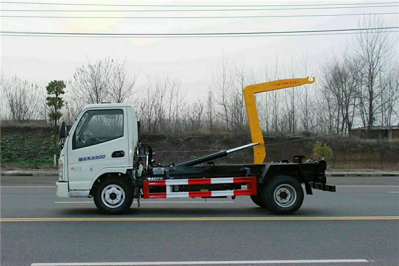凱馬5方車廂可卸式垃圾車圖片