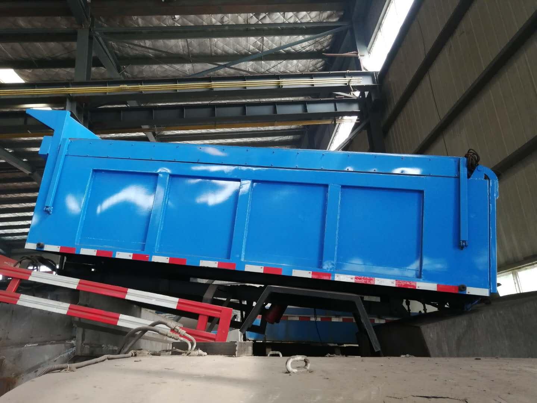 二手自卸式垃圾车/二手自卸对接式垃圾车/二手环卫垃圾车图片